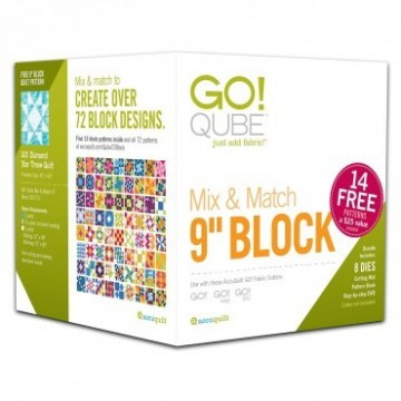 Cube Mix and Match 9 inch Block, 55777