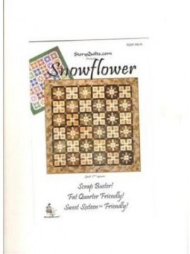 STORY QUILT, Snowflower