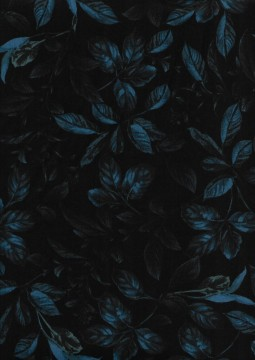 Botanical Leaves Midnight Blue, 5583